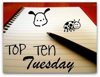 Top Ten Tuesday #9: Books that should be in your beach bag!