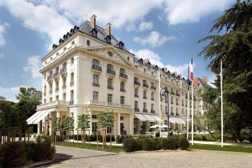 Le Trianon Palace / Repas avec Gordon Ramsay