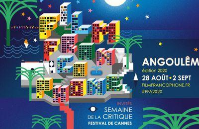 Festival du Film Francophone d'Angoulême #FFA édition 2020 du 28 Aout au 2 Septembre