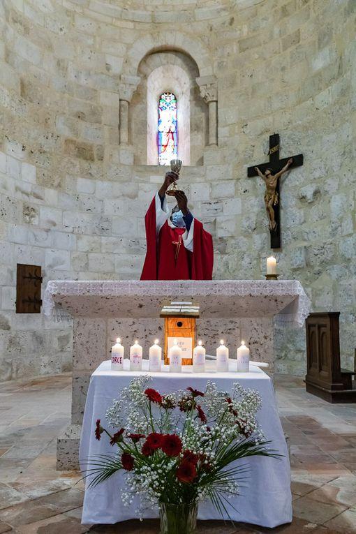1ères communions à Ste Colombe en Bruilhois