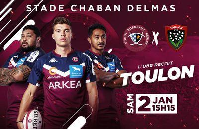 Bègles-Bordeaux / RC Toulon en direct samedi sur Canal Plus !