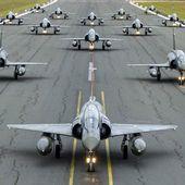 La 3e Escadre de Chasse et son Elephant Walk sur Mirage 2000D. - avionslegendaires.net