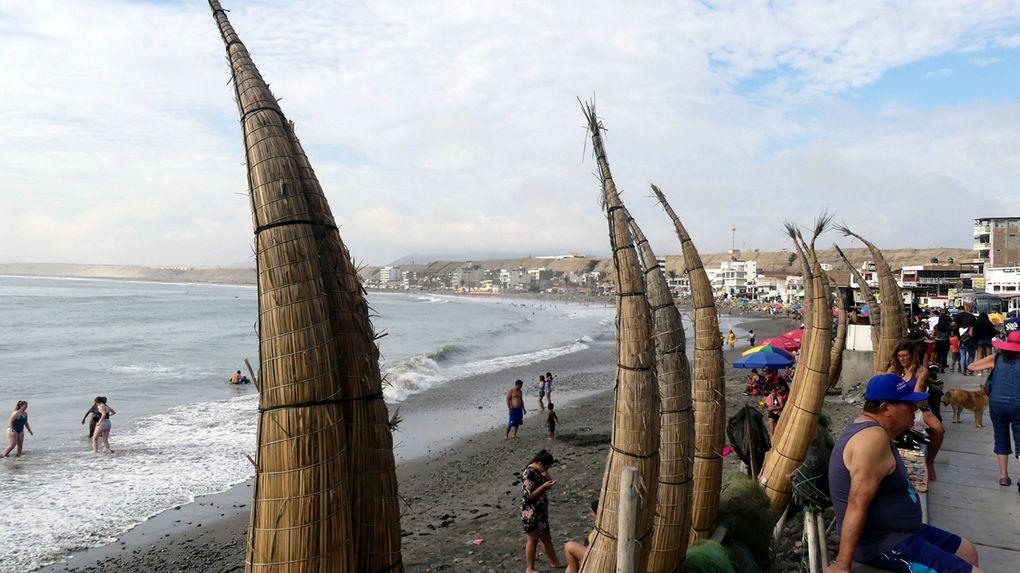 La panaméricaine de Lima à Trujillo.