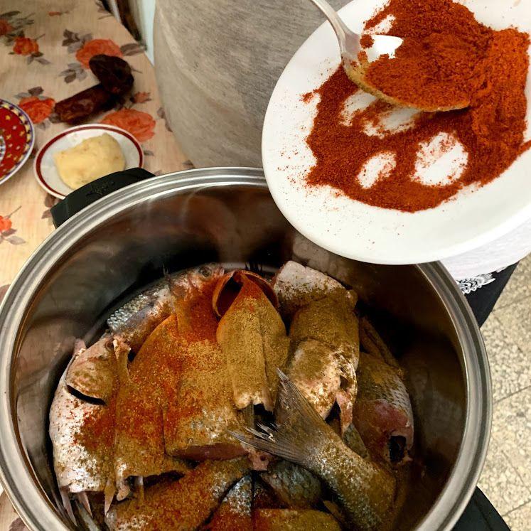 Le couscous au poisson de Tunis