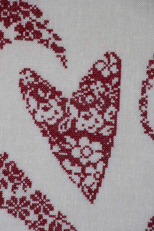 Coeurs fleuris en arabesque ou R-93 de Rovaris