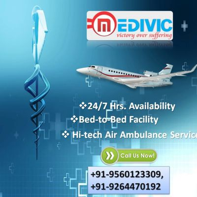 Get Medivic Air Ambulance Service in Patna with Advanced ICU Setup