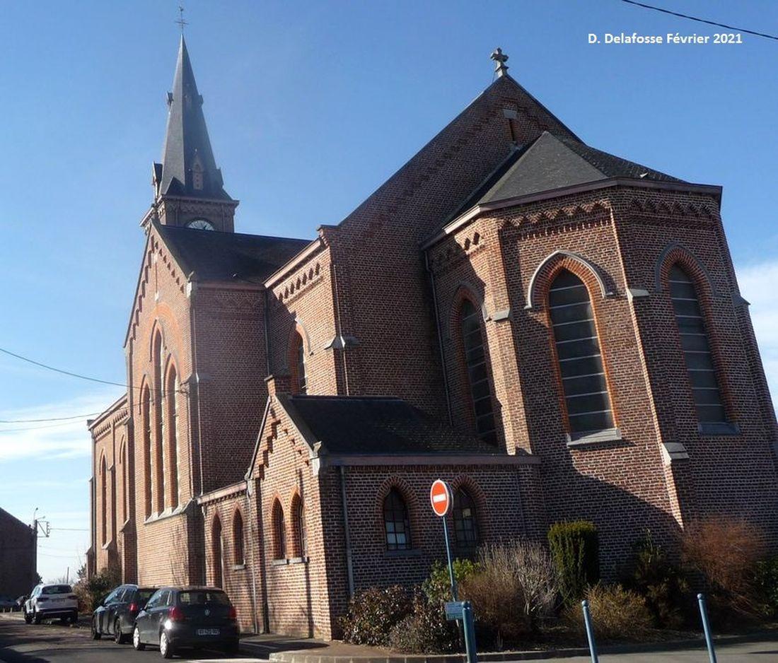 Eglise Saint Alphonse Halluin - Avril 2021.