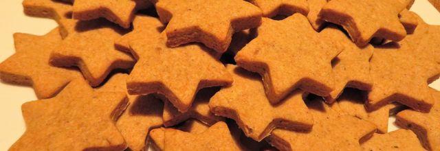 Étoiles de noël aux épices