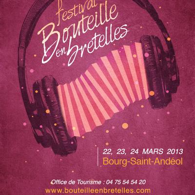 22-24 mars 2è édition du festival Bouteilles en bretelles