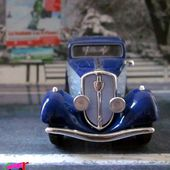 PEUGEOT 601 COACH FUSELE 1934 SOLIDO 1/43. - car-collector.net: collection voitures miniatures
