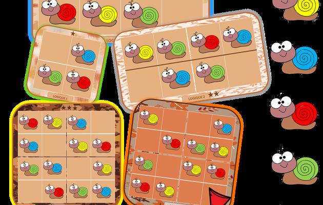 Automne : Logique et Sudoku avec des Escargots