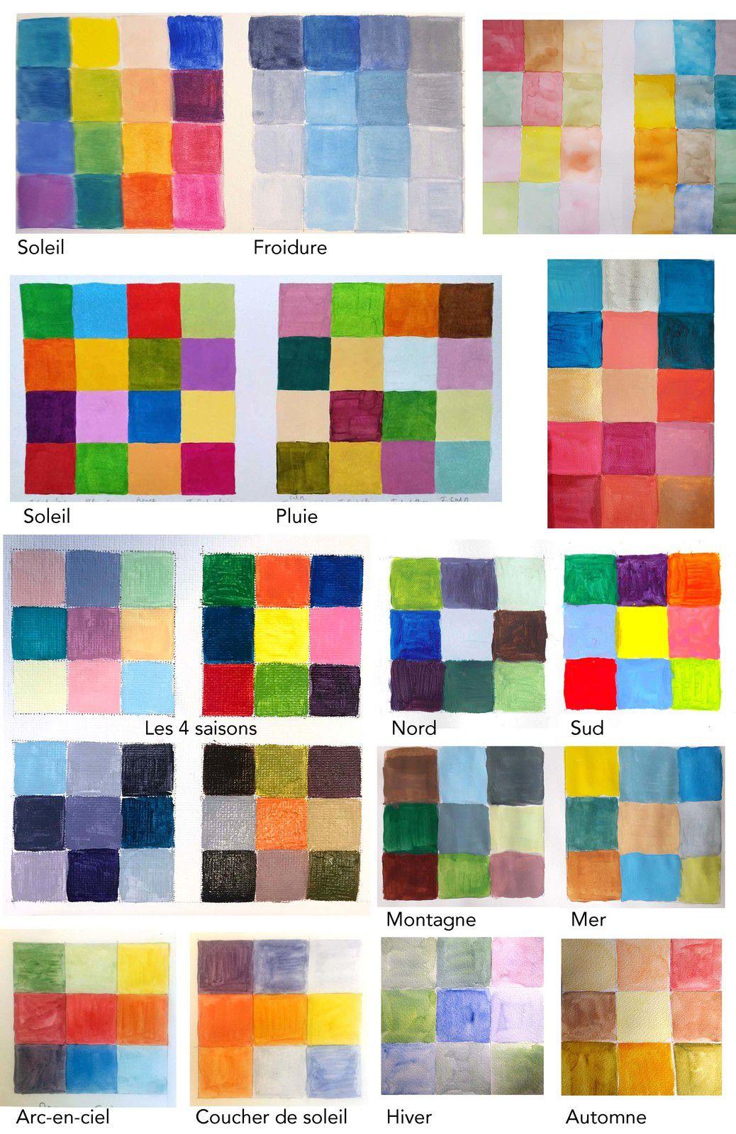 Les couleurs subjectives…
