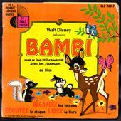 Bambi Raconté par Claude Nicot et Anna Gaylor - l'oreille cassée