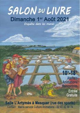 Mesquer - Salon du Livre de Kercabellec - Dimanche 1er août 2021