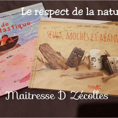 Littérature de jeunesse : Le respect de la nature