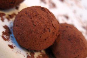 Truffes au chocolat nature ou pas? :D