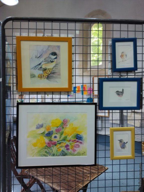 Quelques réalisations de l'atelier aquarelle