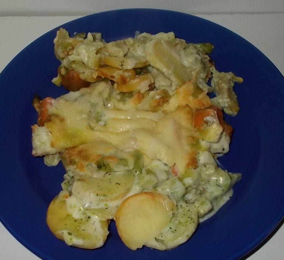 Aldi La Finesse Kartoffel-Gratin mit Feldgemüse