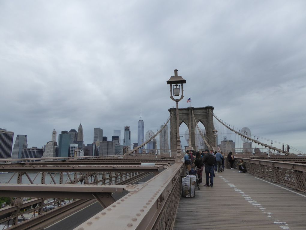 New York City, Brooklyn Bridge - Mai 2017.