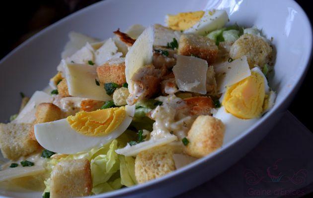 Salade César sans Anchois