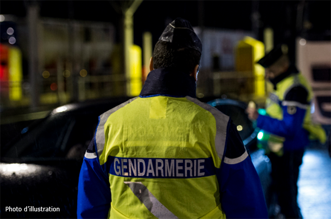 (Photo illustration : Facebook @Gendarmerie Nationale)
