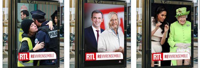 RTL lance sa campagne d'affichage #RevivreEnsemble