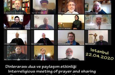 Rencontre interreligieuse inédite à Istanbul durant le Covid 19