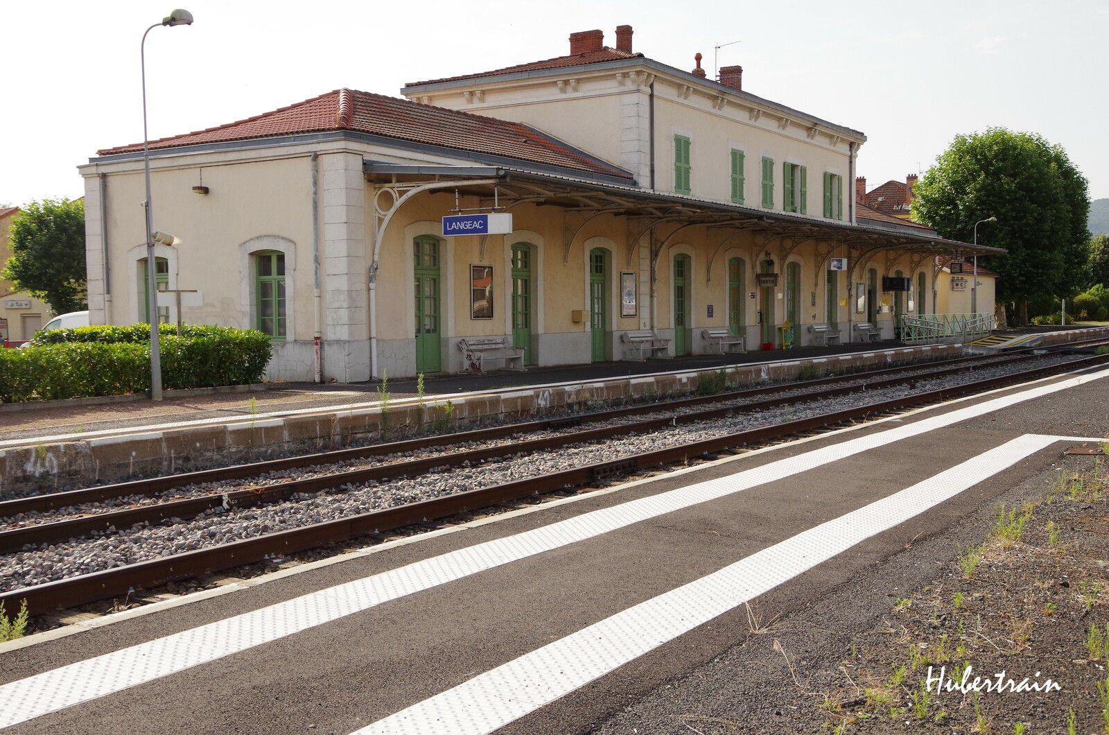 Langeac - Ligne des Cévennes - Août 2017