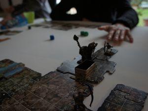 Les aventuriers finissent par récupérer la fameuse lame magique ..aieeee