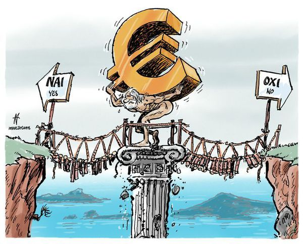 Nai (yes) or oxi (no), does it matter to Greece?