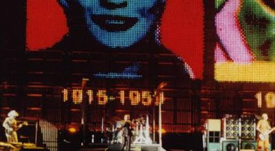 U2 -PopMart Tour -29/07/1997 -Leipzig  Allemagne -Festwiese