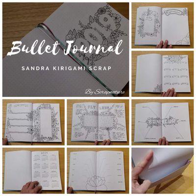 Mon Bullet Journal 2019