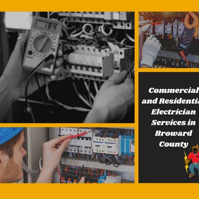 Commercial and Residential Electrician Services in Broward County