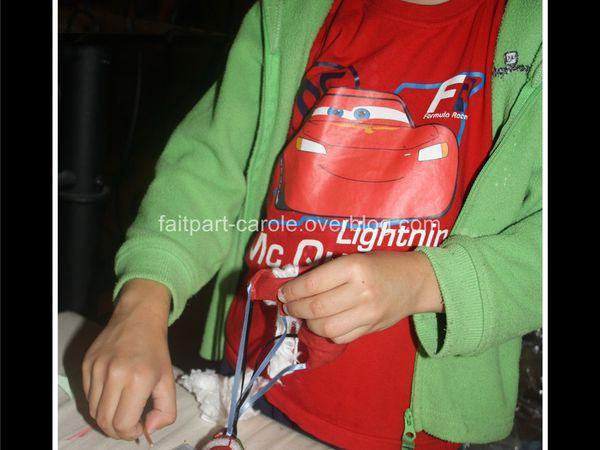 jouet parachute tissu