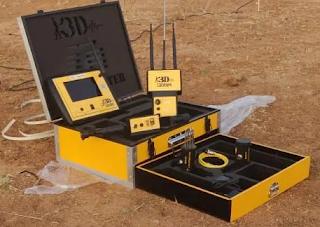 GEOMASTER 3D WATER DETECTOR