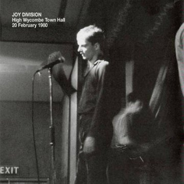 Pochette Joy Division High Wycombe Town Hall - 20 février 1980
