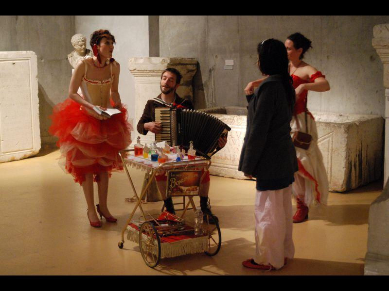 Rosalie, Firmin et Eugénie Bonumeur étaient au Musée Départementale de Lyon Fourvière