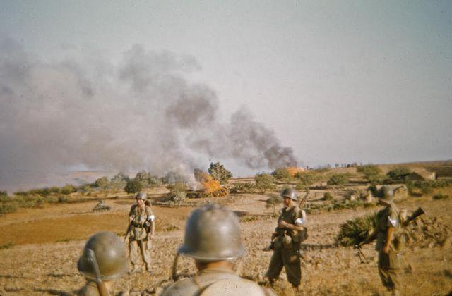 La Guerre d'Algérie : la déchirure (épisodes 1 et 2 sur France 2).
