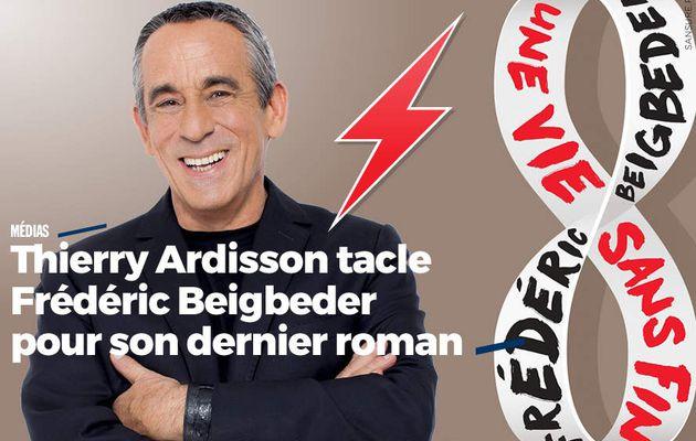 Thierry Ardisson tacle Frédéric Beigbeder pour son dernier roman #clash