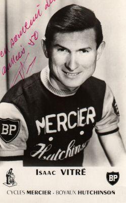 Le routier-pistard Isaac Vitré, lauréat en 1957