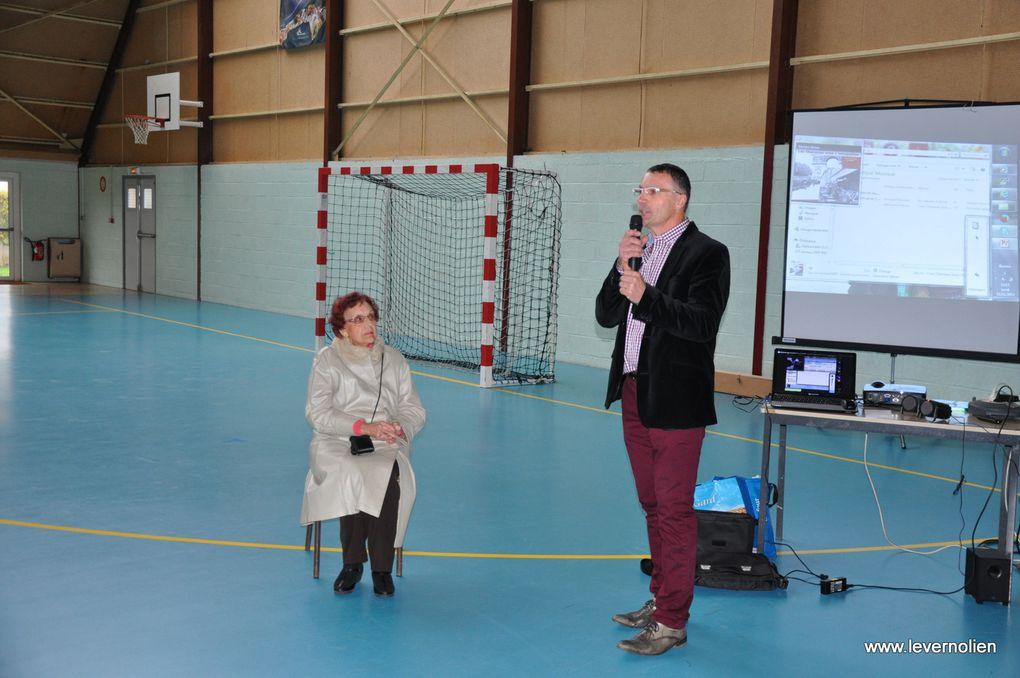 Inauguration du gymnase Jaques Bayet à Verneuil le 11 Novembre 2013