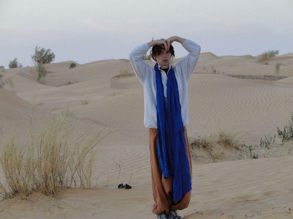 Qi Gong dans le désert tunisien... 2013 part 2