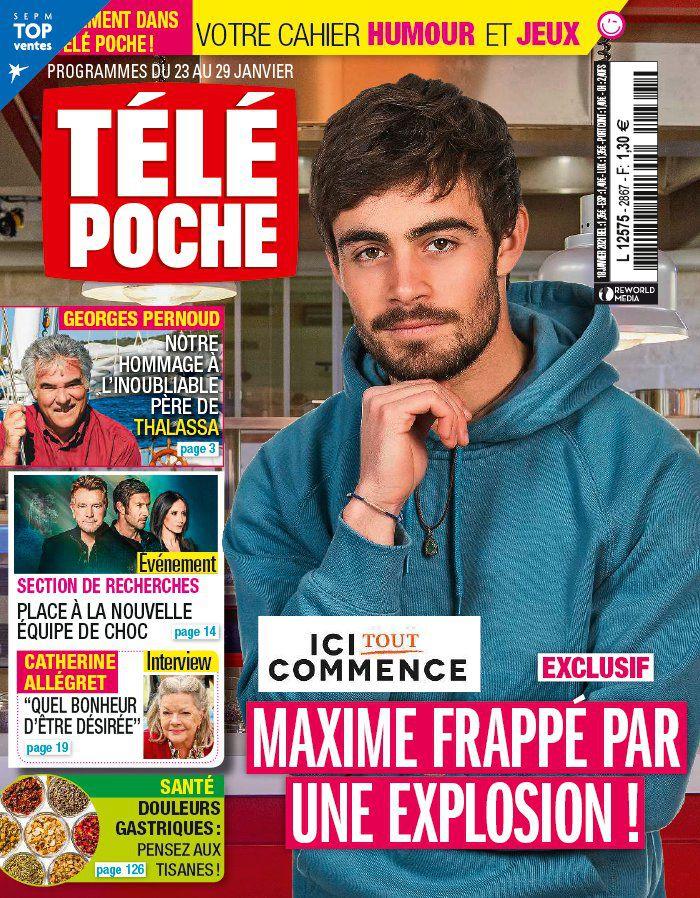 La une de 11 nouveaux numéros de la presse TV : Maud Baecker, Clément Rémiens, Fabienne Carat...