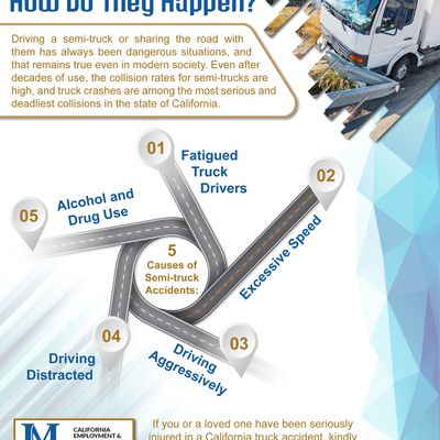 Semi-truck Accidents - How Do They Happen?