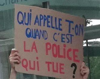 Pourquoi les lieux publics seraient autorisés à toutes coexistences sauf aux manifs, la violence institutionnelle et policière commence dans et par l'injustice.