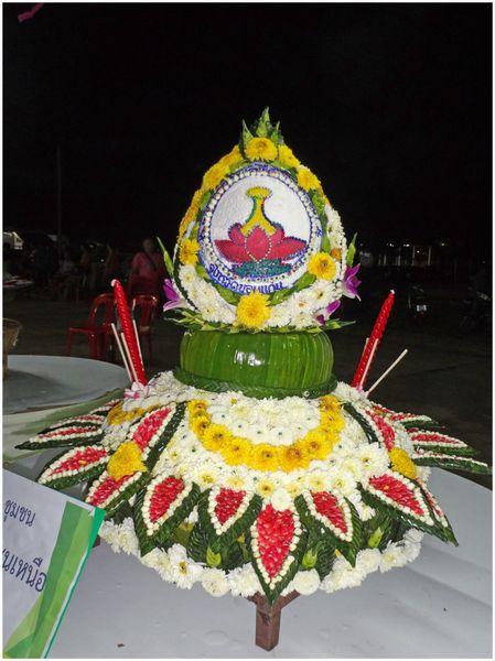 Loi Kratong, le concours du plus beau Kratong....