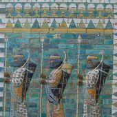 Frise des Archers - Palais de Darius Ier à Suse - LANKAART