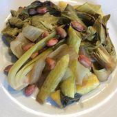pak choï, courgettes et arachides - mes recettes omnicuiseur