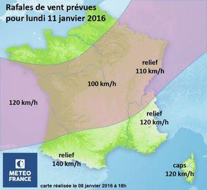 L'hiver 2015-2016 a été le plus chaud depuis 1900 en France !
