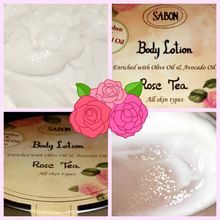 Sabon - Body lotion rose tea
